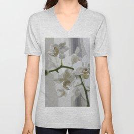 Orchidea Unisex V-Neck