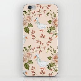 Goose Rose iPhone Skin