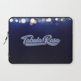 Tabula Rasa Laptop Sleeve