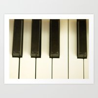 black keys Art Prints featuring The Black Keys... by Nature In Art...