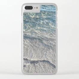 Water Photography Beach Clear iPhone Case