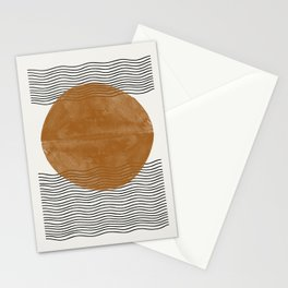 Sun and the water Stationery Cards