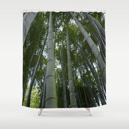 Bambu forest Shower Curtain