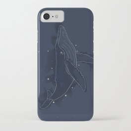 Spacial Whale iPhone Case