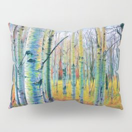 Aspen Trees in the Fall Pillow Sham