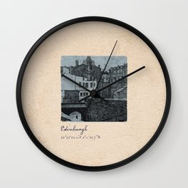 TRAVEL JOURNAL / Scotland, Edinburgh Wall Clock