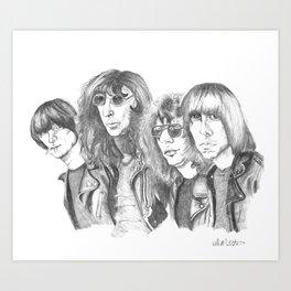 The Ramones Art Print