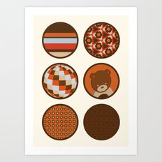 chocolate collection Art Print