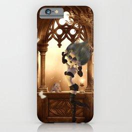 Little dark fairy in the night iPhone Case