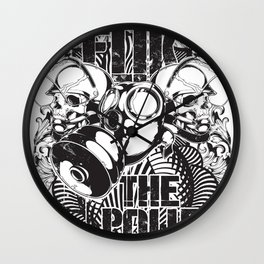 Fuk the police Wall Clock