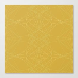 LIGHT LINES ENSEMBLE CEYLON YELLOW Canvas Print