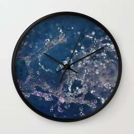 Spray Wall Clock