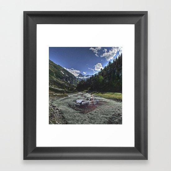 Gabriela's Robin Dream Framed Art Print