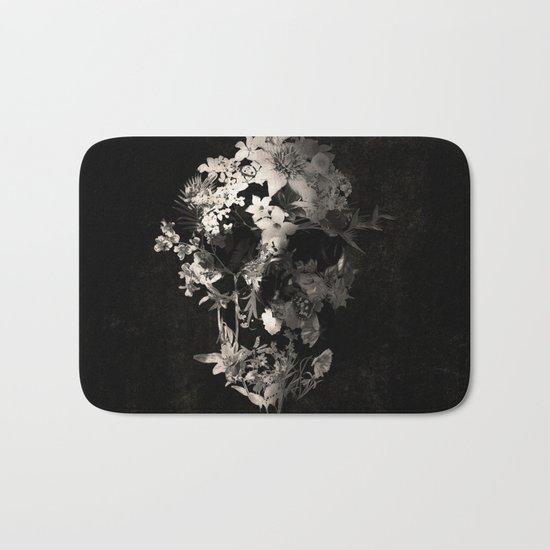 Spring Skull Monochrome Bath Mat