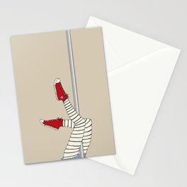 CONVERSE POLE DANCE Stationery Cards