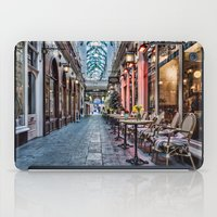 cafe iPad Cases featuring Arcade Cafe by Steve Purnell
