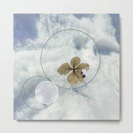 Winter Flower Metal Print
