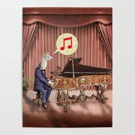 LA-LA-LA-Llama! Poster