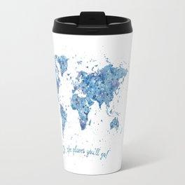 World Map Travel Mug