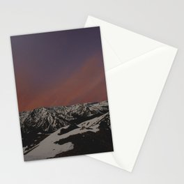 Sunset on Elbert Stationery Cards