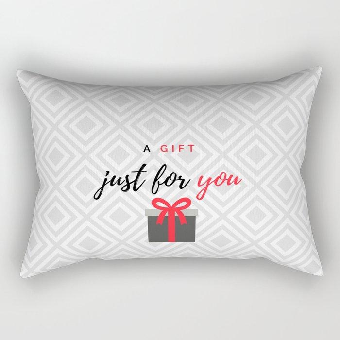 A gift for you Rectangular Pillow