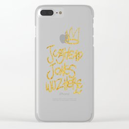 Jughead Jones was here Clear iPhone Case
