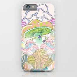 Mushrooms Paradise iPhone Case
