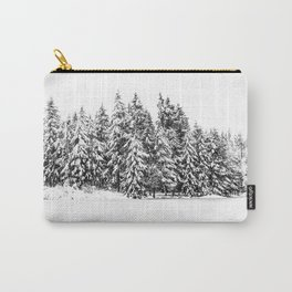 Trees in Snow Carry-All Pouch