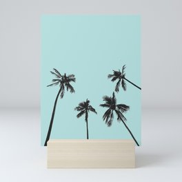 Palm trees 5 Mini Art Print