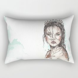 Lost Mermaid Rectangular Pillow