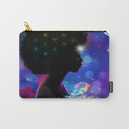 Cosmic Goddess Heart Chakra Carry-All Pouch