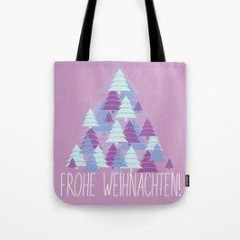 Christmas card Tree Tote Bag