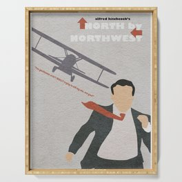 North by Northwest Serving Tray