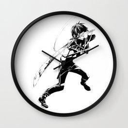 NORAGAMI 9 Wall Clock