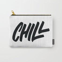 Chill Lettering Carry-All Pouch