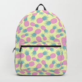 Pink pastel pineapple Backpack