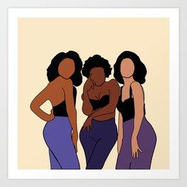 Jade. 90's R&B group. Poster. Print Art Print