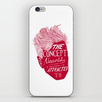 lynch iPhone & iPod Skins featuring David Lynch by Daniel Grushecky