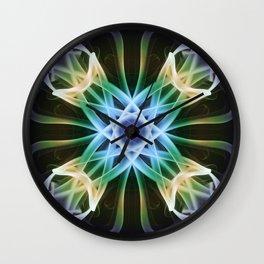 X - 4 Wall Clock