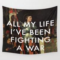 lorde Wall Tapestries featuring Joan's Bravado by Lorde Art History