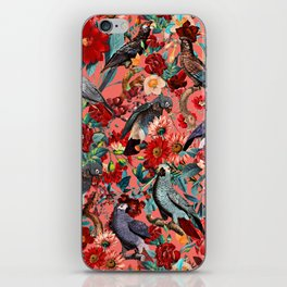 FLORAL AND BIRDS XIX iPhone Skin