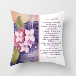 Sweet Daphne Throw Pillow