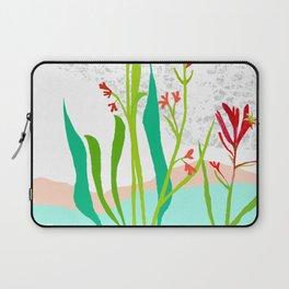 Kangaroo Paw Botanical Illustration Laptop Sleeve