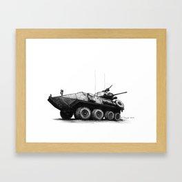 LAV-25 Framed Art Print