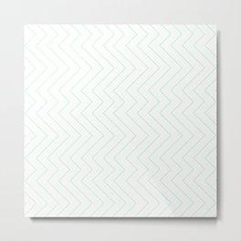 YARA ((seafoam green)) Metal Print