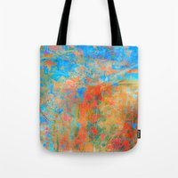 contemporary Tote Bags featuring Contemporary Dance  by Fernando Vieira