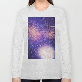 July Fourth Fireworks Long Sleeve T-shirt