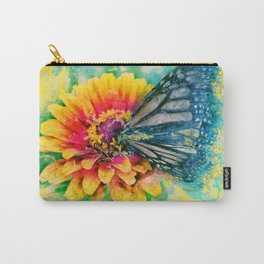 Monarch Butterfly, Painted Butterfly, Butterflies, Unique Art, Best Butterfly, Cool Animal Carry-All Pouch