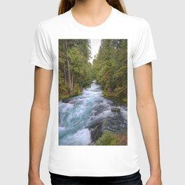 Mc Kenzie River Landscape T-shirt