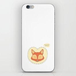 Mr. Foxy iPhone Skin